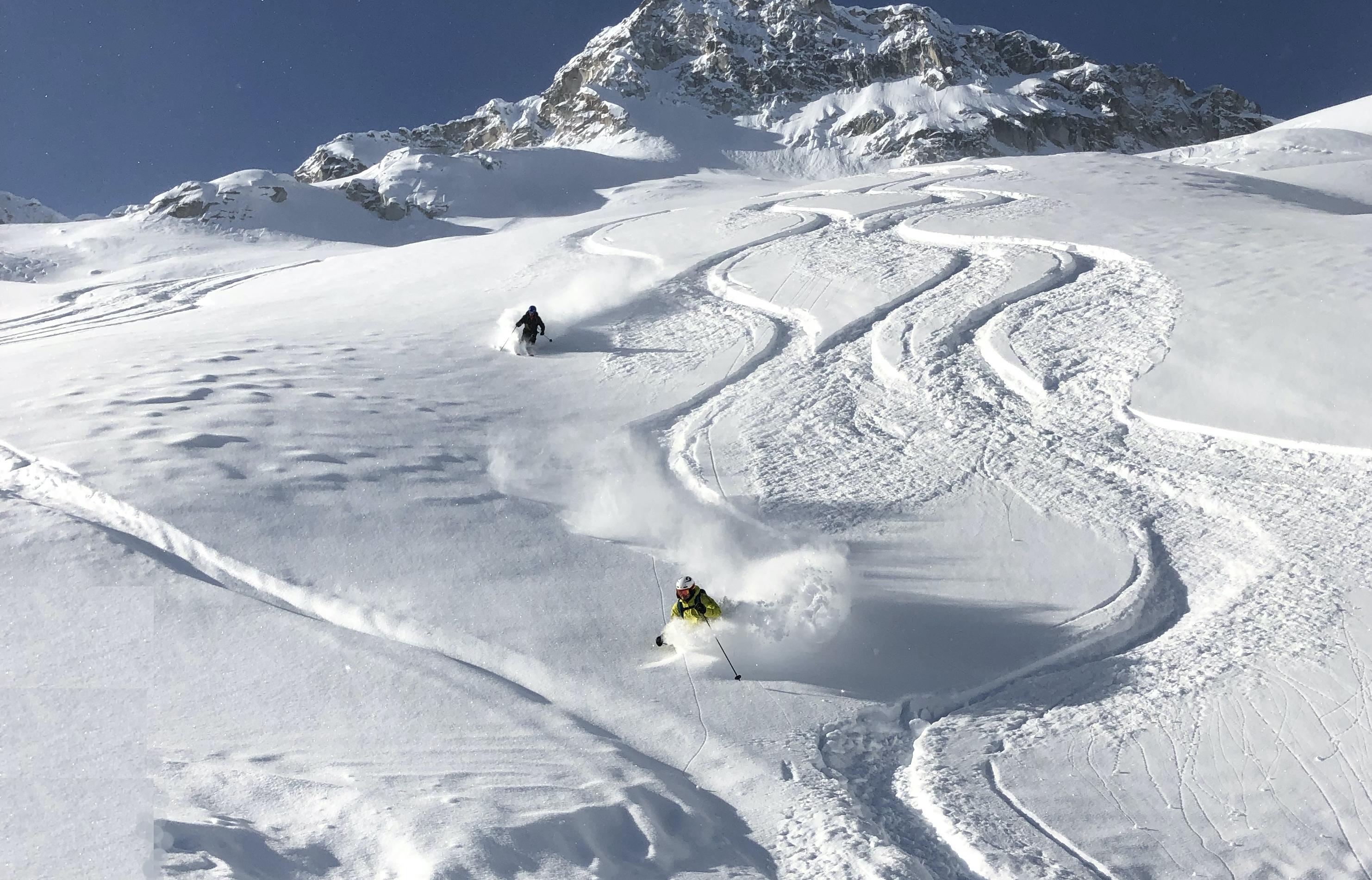 Whistler and Blackcomb Backcountry Skiing