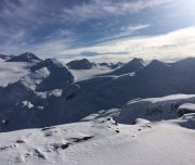 Backcountry Skiing Spearhead Range Whistler BC