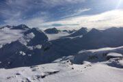 Backcountry Skiing Spearhead Range Whistler BC
