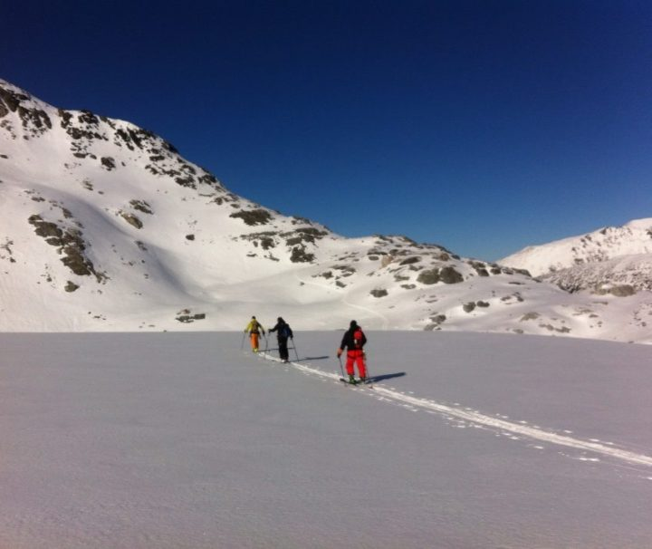 Ski Touring on Spearhead Range Whistler BC