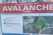 avalanche terrain exposure scale sign