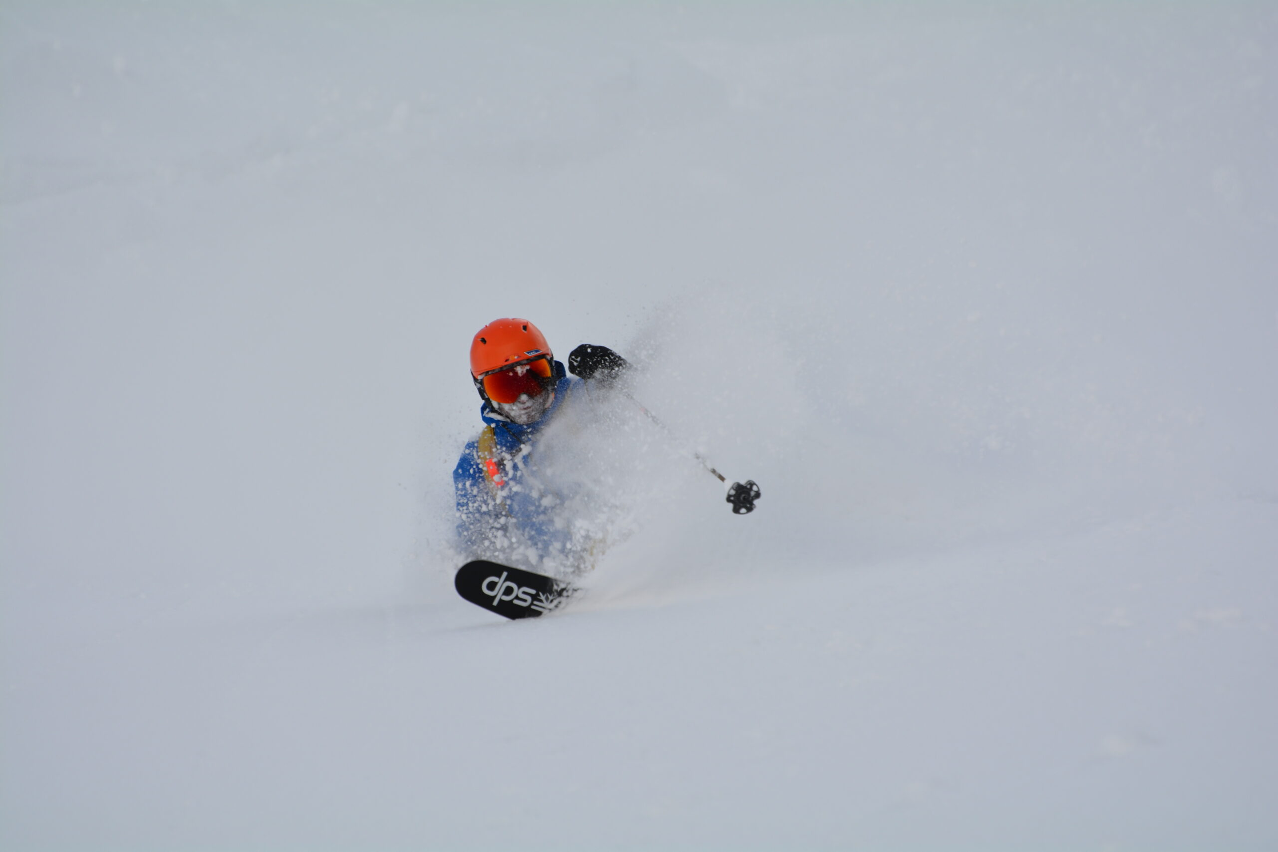 Backcountry Powder Skiing Tenjin Japan