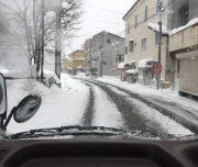 Minikami Winter Roads Japan