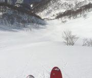 Tenjin North Bowls Japan Backcountry Skiing