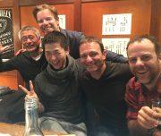 Partying in Tokyo, Japan