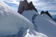 Bergshrund Guarding Summit RIdge