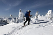 Ski touring in Coquihalla