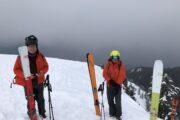 transceiver check Ski Touring Cypress Park, BC