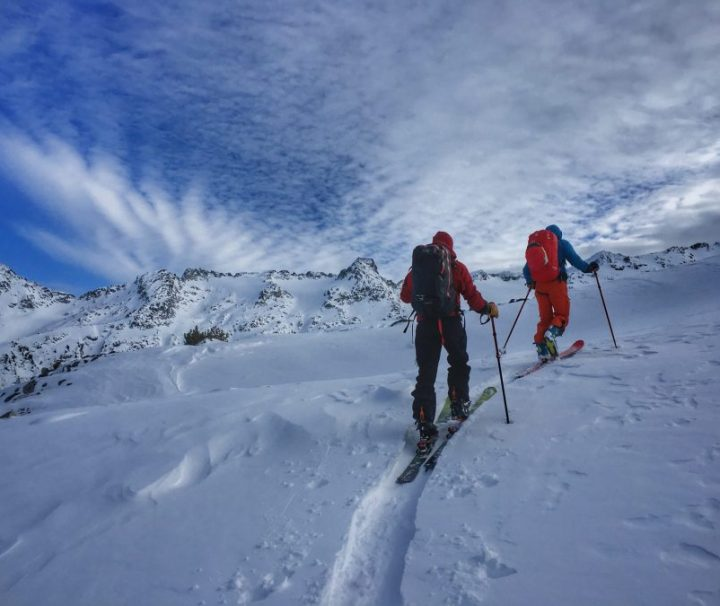 Uphill Track Setting, Decker Lake, Blackcomb Backcountry