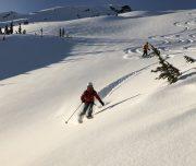 Backcountry Powder Skiing, Coast Range Mountains, British Columbia