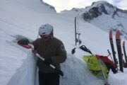 Compression Test performed by BC Parks Ranger, Coast Range Mountains, BC