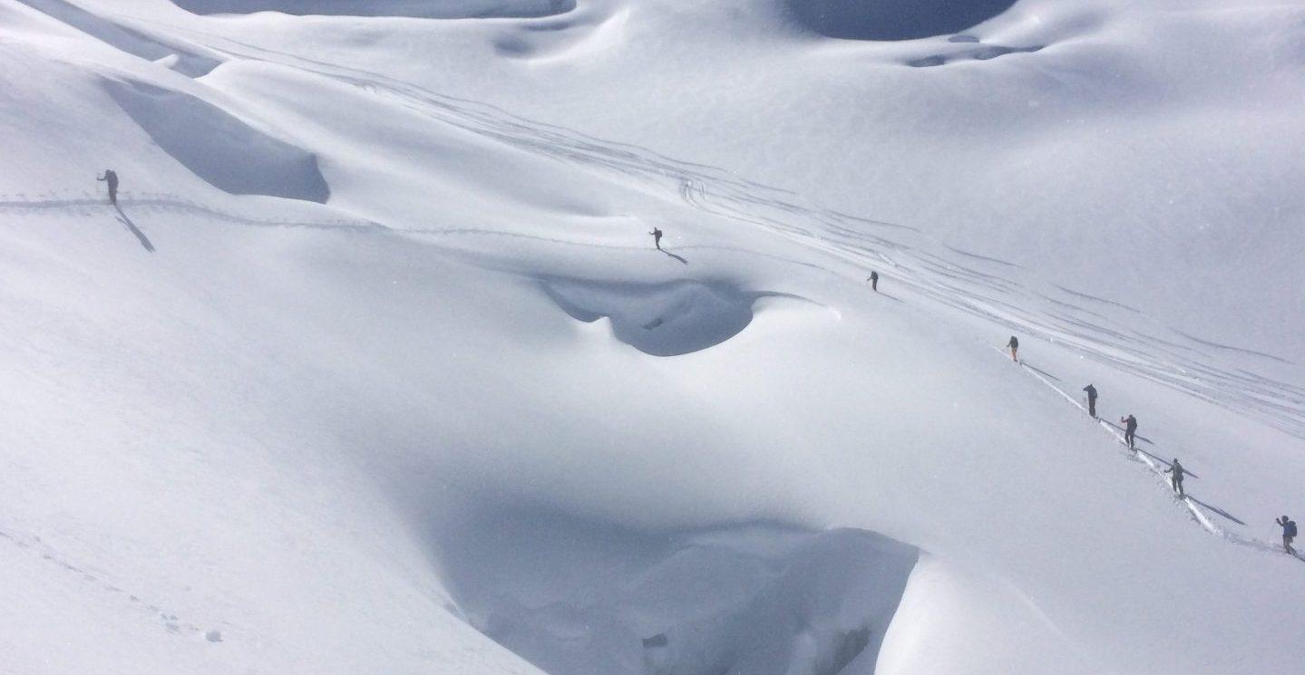 Glacier Travel, Crevasse and Cliff Rescue – North Vancouver and Blackcomb