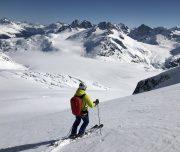 Backcountry Skiing, Coast Range Mountains, British Columbia
