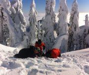 Avalanche Companion Rescue Training, Cypress Provincial Park, British Columbia