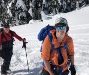 Ski touring coquihalla