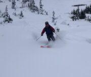 Iago powder skiing!