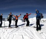Ski touring coquihalla Zupjok Summit